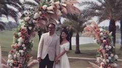 MC Thu Hoài tổ chức tiệc mời cưới cực kỳ hoành tráng tại sân golf
