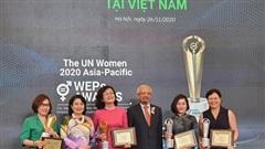 9 doanh nghiệp Việt Nam được trao Giải thưởng WEPs