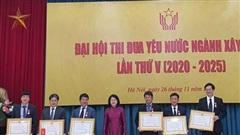 Gần 300 đại biểu dự Đại hội thi đua yêu nước ngành Xây dựng