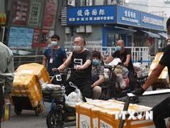 Trung Quốc: Khu chợ Tân Phát Địa dừng bán thực phẩm đông lạnh