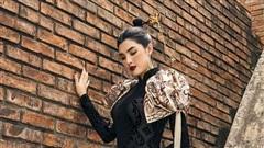 Tuyết Trần khoe dáng với áo dài Nhật Dũng