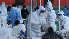 Số ca nhiễm COVID-19 trong ngày tại Hàn Quốc tăng cao kỷ lục