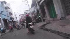 Clip cảnh sát hình sự truy đuổi cướp như phim hành động: Chân dung nghi phạm