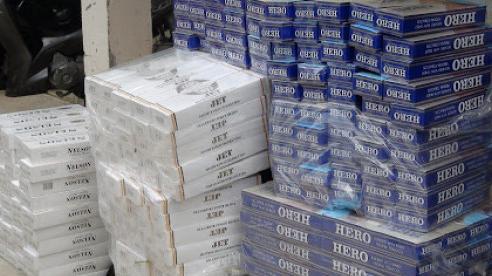 Thu giữ hơn 4.300 gói thuốc lá nhập lậu