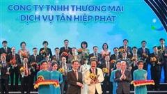 Sản phẩm của Tân Hiệp Phát đạt Thương hiệu Quốc gia