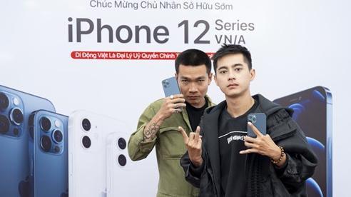 Wowy dẫn Lăng LD đi mua iPhone 12 Pro Max ngay ngày đầu mở bán: 'Thầy nhà người ta' chưa bao giờ làm mình thất vọng