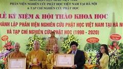 Tạp chí Nghiên cứu Phật học đón nhận Huân chương Lao động hạng Ba