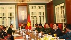 Tiếp tục thúc đẩy hợp tác quốc phòng Việt Nam - Ấn Độ
