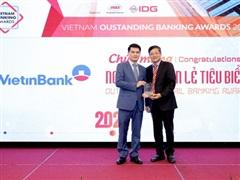 Ngân hàng VietinBank nhận cú đúp giải thưởng uy tín