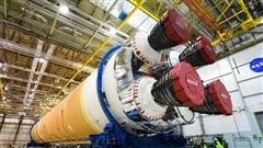 Mỹ chuẩn bị siêu tên lửa chạy đua lên Mặt Trăng
