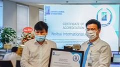 Nội Bài được công nhận là sân bay bảo đảm quy trình phòng, chống dịch Covid-19