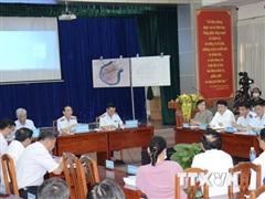 Đối thoại với người dân thuộc 3 phường của Khu đô thị mới Thủ Thiêm