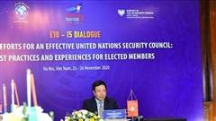 Tăng cường hợp tác giữa các nước Ủy viên không thường trực HĐBA LHQ