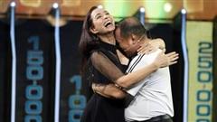 Vợ chồng Thúy Hạnh, Minh Khang vui sướng vì thắng 450 triệu đồng