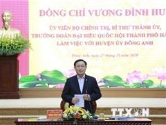Bí thư Hà Nội: Tạo động lực đưa huyện Đông Anh phát triển bứt phá