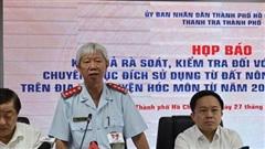 Kiểm điểm 58 cá nhân có sai phạm trong quản lý đất đai tại huyện Hóc Môn