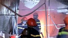 Hà Tĩnh: Kịp thời khống chế ngọn lửa, đưa 4 người dân ra khỏi đám cháy an toàn