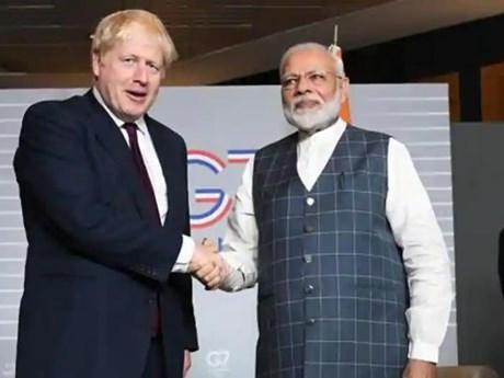 Ấn Độ và Anh thảo luận lộ trình phát triển quan hệ song phương