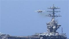 Tàu sân bay hạt nhân USS Nimitz của Mỹ bất ngờ quay lại vịnh Ba Tư