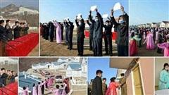 Triều Tiên hoàn thành 2.300 ngôi nhà mới chỉ sau 2 tháng