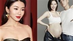 'Người tình' của Angela Baby khoe ảnh bà xã bụng bầu vượt mặt, netizen râm ran tìm thông tin bạn gái cũ là thiên kim Dior