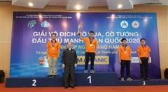 Kỳ thủ quân đội Nguyễn Đức Hòa thắng lớn ở Giải cờ vua đấu thủ mạnh toàn quốc 2020
