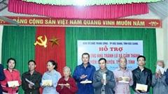 Hà Tĩnh: Hỗ trợ 2 tỷ đồng cho người dân vùng lũ