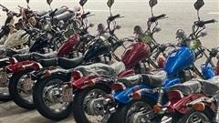 Bộ sưu tập xe máy Honda Rebel 250 hàng hiếm giá tiền tỷ ở Hà Nội