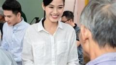 Hoạt động cộng đồng đầu tiên của Đỗ Thị Hà trên cương vị Hoa hậu Việt Nam