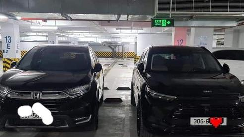Màn đỗ xe hiểm của Honda CR-V cạnh Beijing X7 nổ tranh cãi: Do xe tốt hay do người lái