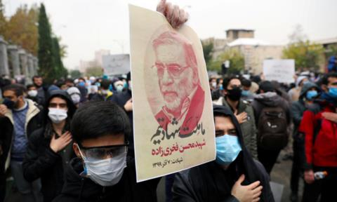 Báo Iran đề xuất tấn công Isarel để trả thù cho nhà khoa học hạt nhân