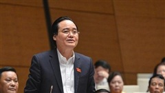Bộ trưởng Phùng Xuân Nhạ: Tiết kiệm 29,7 triệu USD để đổi mới chương trình, SGK