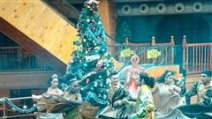 Giáng Sinh đã về sớm trên đỉnh Bà Nà