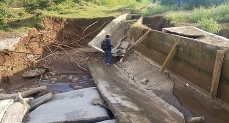 Thanh tra dự án Thủy lợi Plei Keo chưa nghiệm thu đã 'nát'