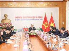 Thúc đẩy quan hệ Việt Nam-Trung Quốc phát triển lành mạnh, ổn định