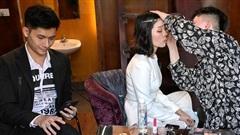 Lệ Quyên và Lâm Bảo Châu gắn bó 'như hình với bóng' tại show Người tình