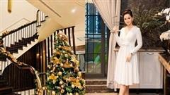 Biệt thự sang chảnh của Lã Thanh Huyền trang hoàng Giáng sinh sớm