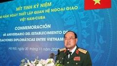 Bộ Quốc phòng kỷ niệm 60 năm Ngày thiết lập quan hệ ngoại giao Việt Nam-Cuba