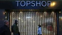 Chủ Topshop và hàng loạt thương hiệu thời trang nộp đơn xin phá sản