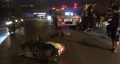 Nam thanh niên đi xe máy tử vong sau tai nạn với xe đầu kéo