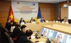 Việt Nam và EU thúc đẩy việc thực thi hiệu quả Hiệp định EVFTA
