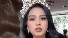 Tân Hoa hậu Đỗ Thị Hà khoe style makeup mới lạ, dân tình lại phản ứng trái chiều kẻ chê người khen