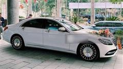Bóc giá 'xế xịn' Mercedes-Maybach S450 trong đám cưới Công Phượng: Đèn nội thất 64 màu, cửa sổ trời đổi màu