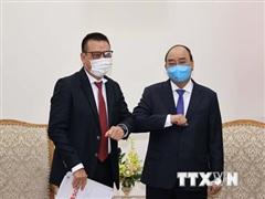 Thủ tướng Nguyễn Xuân Phúc tiếp lãnh đạo Tập đoàn SCG của Thái Lan