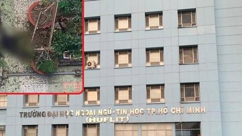 Cựu sinh viên rơi từ tầng 6 xuống đất tử vong, ĐH Ngoại ngữ - Tin học TP HCM nói gì?
