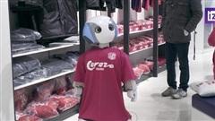 Nhật Bản trang bị robot nhắc nhở khách hàng đeo khẩu trang