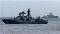 Báo Mỹ tin ưu thế vượt trội của chiến hạm trước Nga