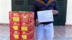 Bắt giữ đối tượng vận chuyển 51kg pháo nổ từ Trung Quốc vào Việt Nam