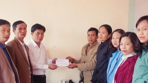 Thanh Hóa: Trao tiền hỗ trợ gia đình có công nhân mất tích tại Thủy điện Rào Trăng 3