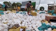 Gia Lai: Tiêu hủy hơn 208 ngàn bao thuốc lá điếu nhập lậu